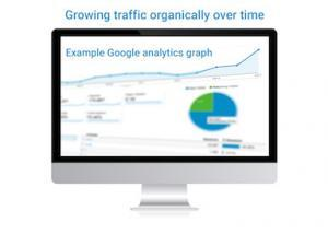 What is SEO analytics graph image, WebCie MTL Inc.