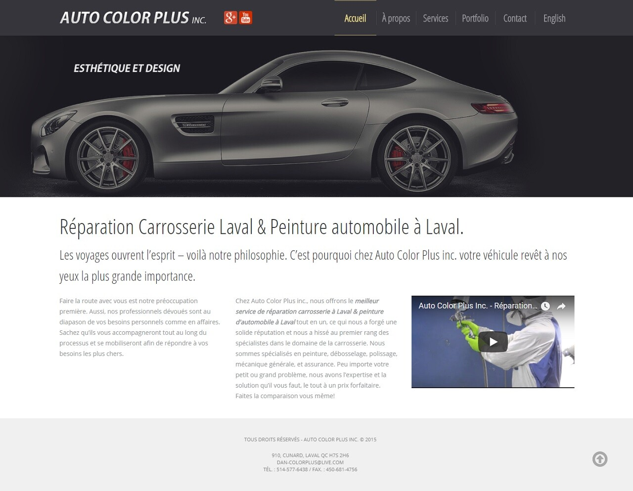 Auto Color Plus, WebCie portfolio, photo