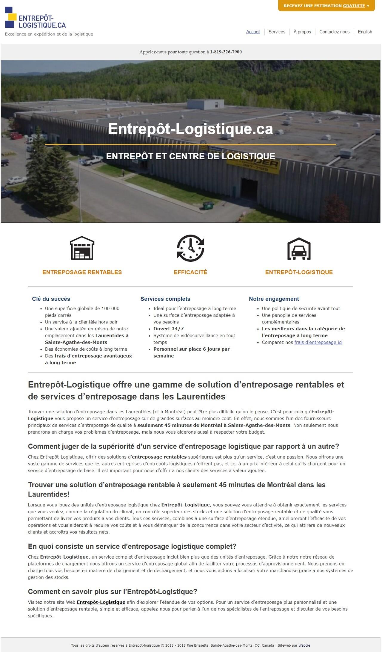 Entrepot Logistique, WebCie portfolio, photo