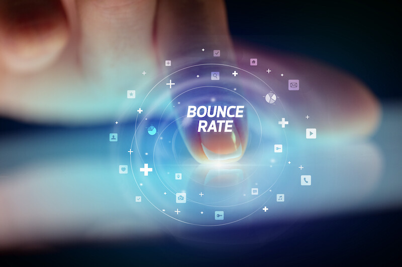 bounce rate composants