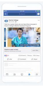 Publicités Facebook de type prospect